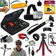 Xtech GoPro互換品 アクセサリーキット アウトドア サイクリング ダイビング Xtech Ideal Accessory Kit for GoPro