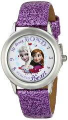 アナと雪の女王より、アナとエルサがデザインされた腕時計☆日常生活防水で、お子様でも安心し...
