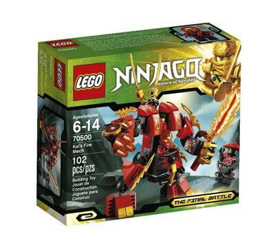 LEGO(レゴ)のニンジャゴー カイのファイヤー・ロボです。LEGO(レゴ) Ninjago Kais Fire Mec...