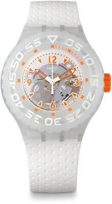 スウォッチSWATCHSCUBA(スクーバ)CLOWNFISH(クロウンフィッシュ)SUUW100メンズ腕時計