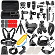 Neewer ニーワー 58-in-1 GoPro互換品 アクセサリーキット 各種マウント/ストラップ/工具 Neewer 58-in-1 Sport Accessory Kit for GoPro