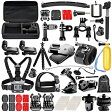 Neewer ニーワー 53-in-1 GoPro互換品 アクセサリーキット 各種マウント/ストラップ/工具 Neewer 53-in-1 Sport Accessory Kit for GoPro