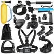 Neewer ニーワー 14-in-1 GoPro互換品 アクセサリーキット 各種マウント/ストラップ/工具 Neewer 14-in-1 Sport Accessory Kit for GoPro