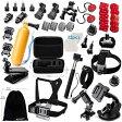 GoPro互換品 Zookki エッセンシャルアクセサリーキット スポーツアクセサリー Zookki Essential Accessories Bundle Kit for GoPro 45121600