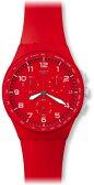 スウォッチ SWATCH CHRONO PLASTIC(クロノ プラスチック) RED SHADOW(レッド・シャドー) SUSR400 ユニセックス 腕時計