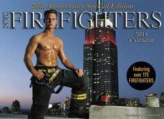 ニューヨーク市で働く消防士たちのカレンダー、2015年版が登場。たくましい消防士が掲載されて...