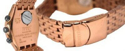 スウォッチSWATCHIRONYCHRONO(アイロニークロノ)PUSHBACK(プッシュバック)YCG408Gユニセックス腕時計