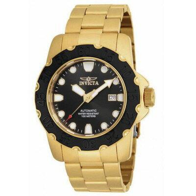 インヴィクタInvicta17090ProDiverAutomatic3HandBlackDialメンズ腕時計