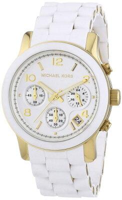 マイケルコースMichaelKorsラバーブレスクロノグラフウォッチMK5145レディース腕時計