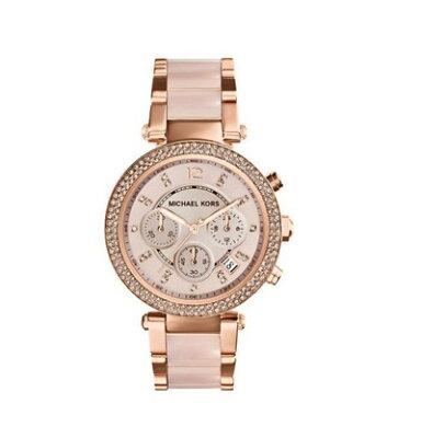 マイケルコースMICHAELKORSクロノグラフMK5896レディース腕時計