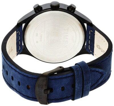 タイメックスTIMEXインテリジェントクォーツフライバッククロノグラフブラック/ブルーT2P512メンズ腕時計