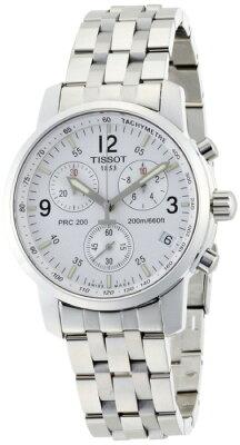 ティソTISSOTPRC200クロノグラフホワイトメンズT17158632メンズ腕時計