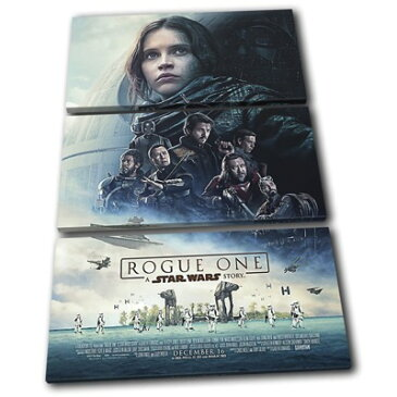Star Wars Rogue One スターウォーズ ローグワン 3枚組キャンバスアート 壁掛けポスター プリントボックス TREBLE Canvas Art Framed Picture Wall Hanging 約90 x 60cm・お取寄