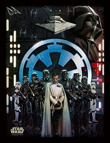 Star Wars Rogue One スターウォーズ ローグワン エンパイア 額付きポスター 36x46 Empire Framed ...