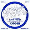D'Addario エレキギター バラ弦 5本セット CG048 Chromes Flat Wound【daddario ダダリオ エレキ弦 cg-048】【ゆうパケット対応】