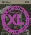 "D'Addario ダダリオ エレキギター弦 EHR320 ""XL Half Rounds"" [daddario エレキ弦 EHR-320]【ゆうパケット対応】"