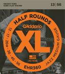 "D'Addario ダダリオ エレキギター弦 EHR360 ""XL Half Rounds"" [daddario エレキ弦 EHR-360]【ゆうパケット対応】"