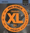 "D'Addario ダダリオ ベース弦 EPS160-5 (5弦用) ""XL ProSteels Round Wound"" [daddario eps-160-5]【ゆうパケット対応】"