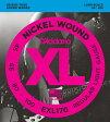 """【売れ筋!】D'Addario ダダリオ ベース弦 EXL170 """"XL Nickel Round Wound"""" [daddario exl-170]【ゆうパケット対応】"""