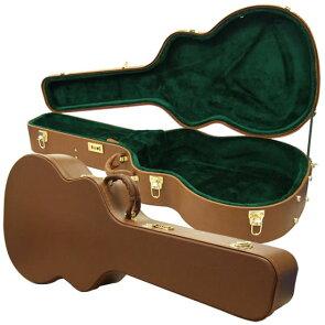 ジャンボタイプ対応アコースティックギター用木製ハードケースJ-150