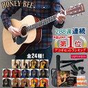 アコースティックギター HONEY BEE W-15/F-15 アコギ リミテッドセット【予約カラー ...