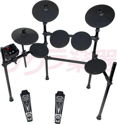 MEDELI 電子ドラム DD-401J DIY KIT イス、ヘッドフォン、DVD、アンプ、電子ドラムセット【メデリ デジタル ドラム DD401J 練習】・・・ 画像2