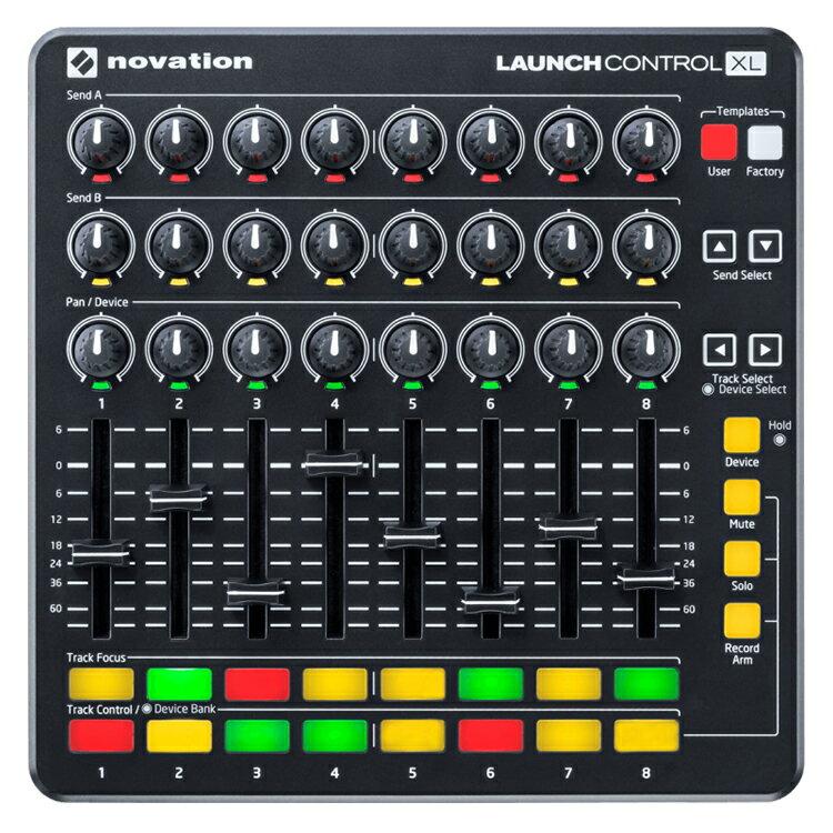 DAW・DTM・レコーダー, MIDIインターフェイス 5611959NOVATION MIDI Launch Control XL MKIIAbleton Live Lite