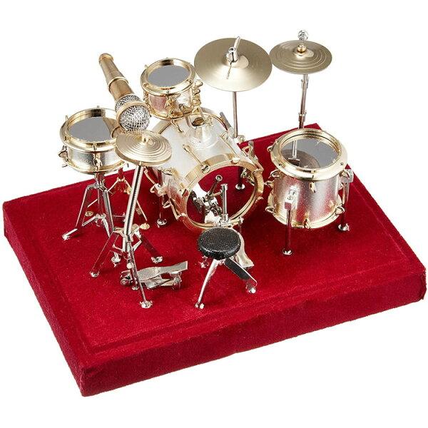 今だけ5倍 5月17日9:59 SUNRISESOUNDHOUSEミニチュア楽器ドラムセット1/18