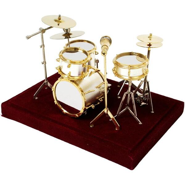 今だけ5倍 5月17日9:59 SUNRISESOUNDHOUSEミニチュア楽器ドラムセット1/14