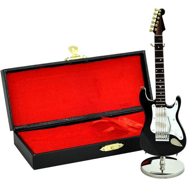 今だけ5倍 5月17日9:59 SUNRISESOUNDHOUSEミニチュア楽器エレキギターGE3415cmBK