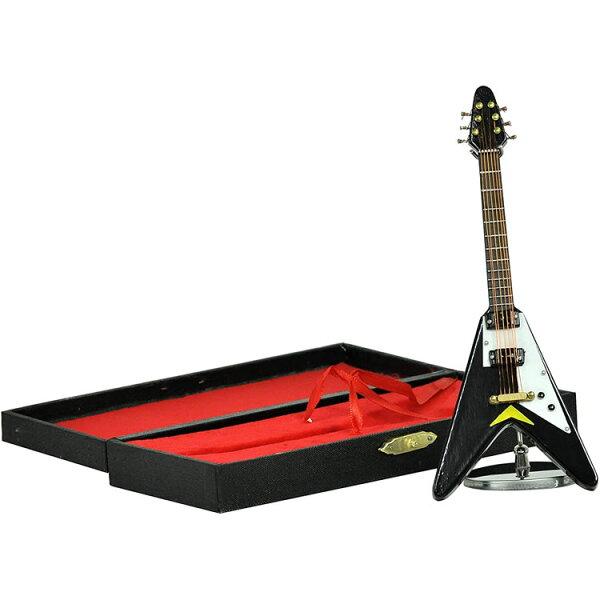 今だけ5倍 5月17日9:59 SUNRISESOUNDHOUSEミニチュア楽器エレキギターGE3315cmBK