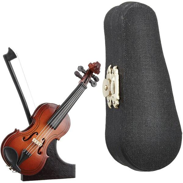 今だけ5倍 5月17日9:59 SUNRISESOUNDHOUSEミニチュア楽器バイオリン9cm