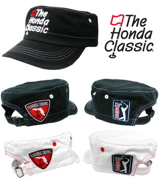PGA TOUR(PGAツアー) ゴルフキャップ ザ・ボンダクラシック ファイテン スクエアタイプ PT0642 phiten×PGA TOUR Honda Classic