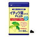 イチョウ葉エキス(DHA配合)PLUS60粒【株式会社タケイ】