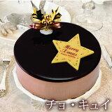チョ・キュイ 【清川屋のクリスマスケーキ チョコレートムース かわいい 4号】