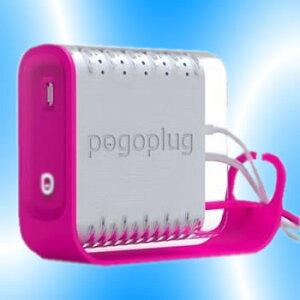【送料無料】Pogoplug POGO-E02 ピンク NASアダプター【ポゴプラグ CloudEngine社製】