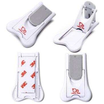 【送料無料】【選べる2タイプ】ワンタッチロックS 赤ちゃんの安全対策 スライドドアロック 4個セット【安全ロック ベビーガード ドアロック ストッパー 扉 引き出し チャイルド いたずら防止】