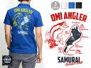 サムライ魚釣倶楽部半袖ポロシャツ SUT16-102 サムライジーンズ...