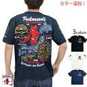 奈良の大仏半袖Tシャツ TEDMAN テッドマン TDSS-