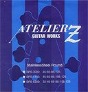 【ポイント2倍】【ベース弦×1セット】【メール便発送・全国送料無料・代金引換不可】アトリエZ ATELIER Z SPS-4700 [45-125] ステンレス 5弦ベース弦【smtb-TK】