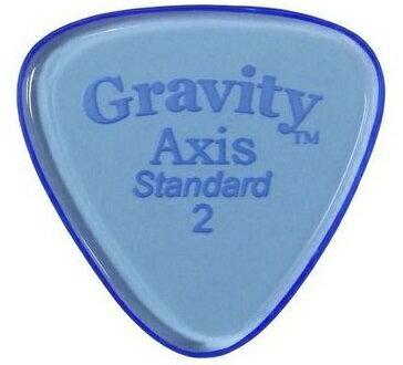 アクセサリー・パーツ, ピック 2GRAVITY GUITAR PICKS GAXS2P Axis -Standard- 2.0mmBlue 5smtb-TK