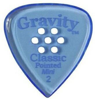 アクセサリー・パーツ, ピック GRAVITY GUITAR PICKS GCPM2PM Classic Pointed -Mini(Jazz)- 2.0mm with Multi-HoleBlue smtb-TK5