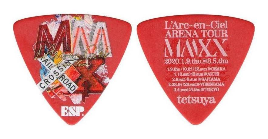 アクセサリー・パーツ, ピック ESP PA-LT10-MMXX R5 (RED) LArcenCiel ARENA TOUR MMXX tetsuya smtb-TK