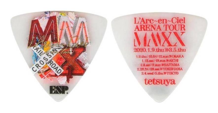 アクセサリー・パーツ, ピック ESP PA-LT10-MMXX WH5 (WHITE) LArcenCiel ARENA TOUR MMXX tetsuya smtb-TK