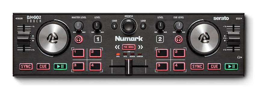 DJ機器, DJコントローラー Numark DJ2GO2 Touch DJsmtb-TK