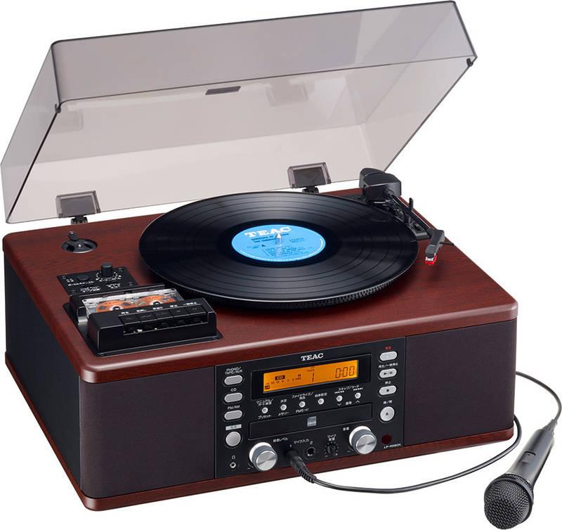 コンポ用拡張ユニット, レコードプレーヤー TEAC LP-R560K-WA CDsmtb-TK