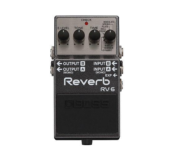 ギター用アクセサリー・パーツ, エフェクター  BOSS RV-6 Reverb smtb-TK8