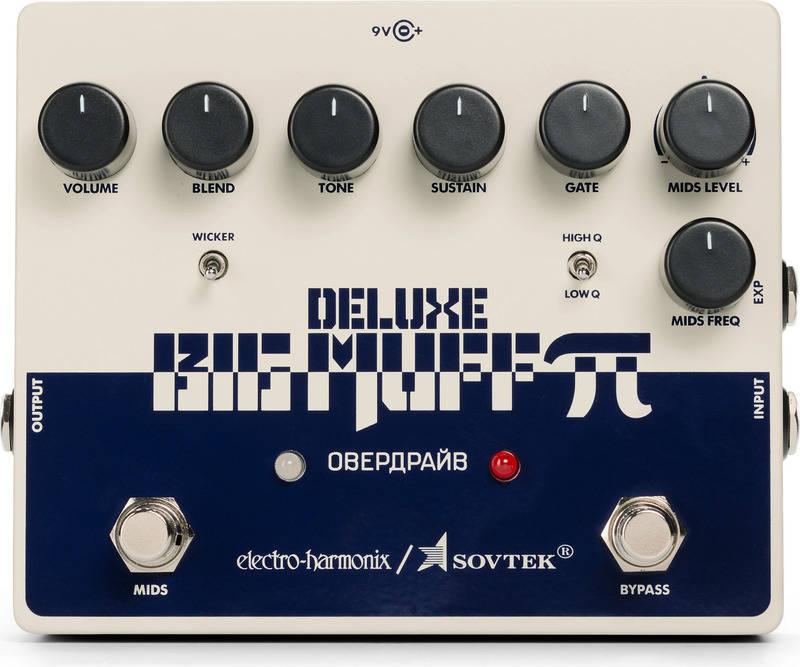 ギター用アクセサリー・パーツ, エフェクター ELECTRO HARMONIX Sovtek Deluxe Big Muff DistortionSustainer 2smtb-TK
