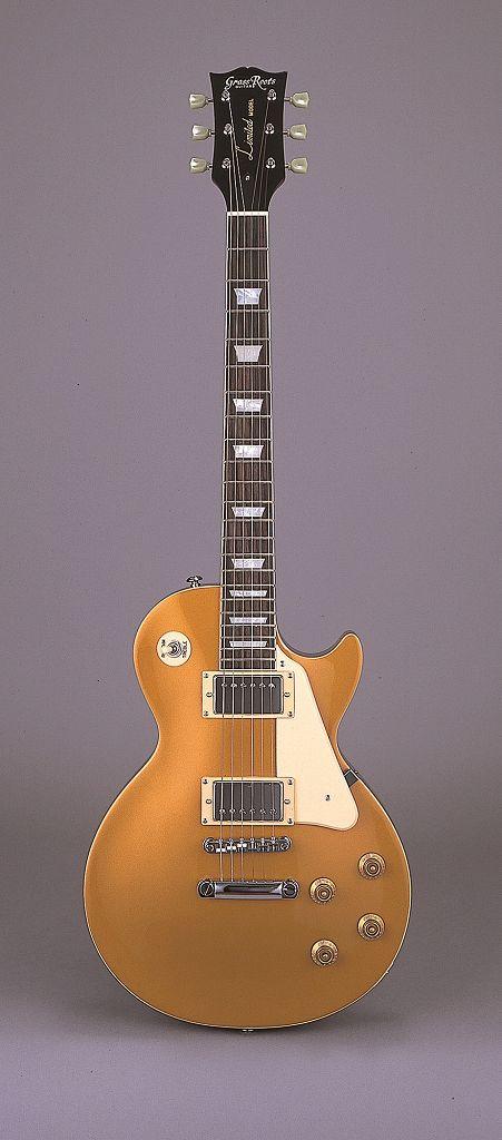 ギター, エレキギター  GrassRoots G-LP-60S Gold5smtb-TK