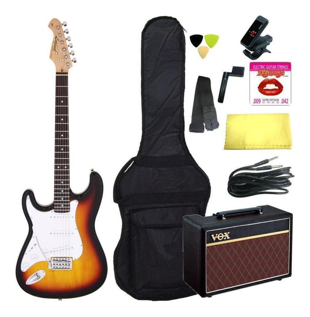 セット, エレキギターセット  Legend LST-ZLH 3TS(3 Tone Sunburst)10VOX smtb-TK